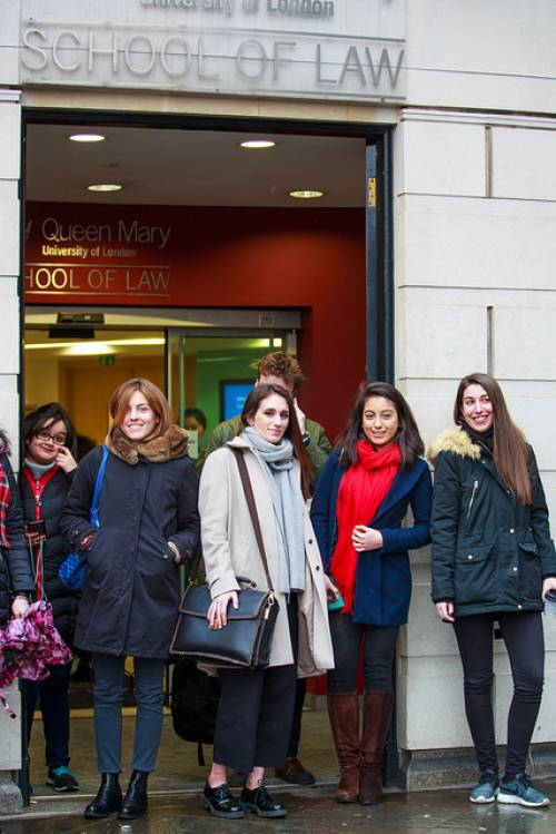 LLM Students at the Holborn Campus