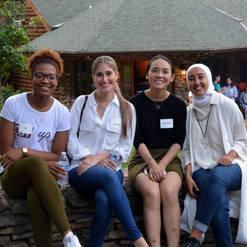 Duke Law LLM students at their orientation