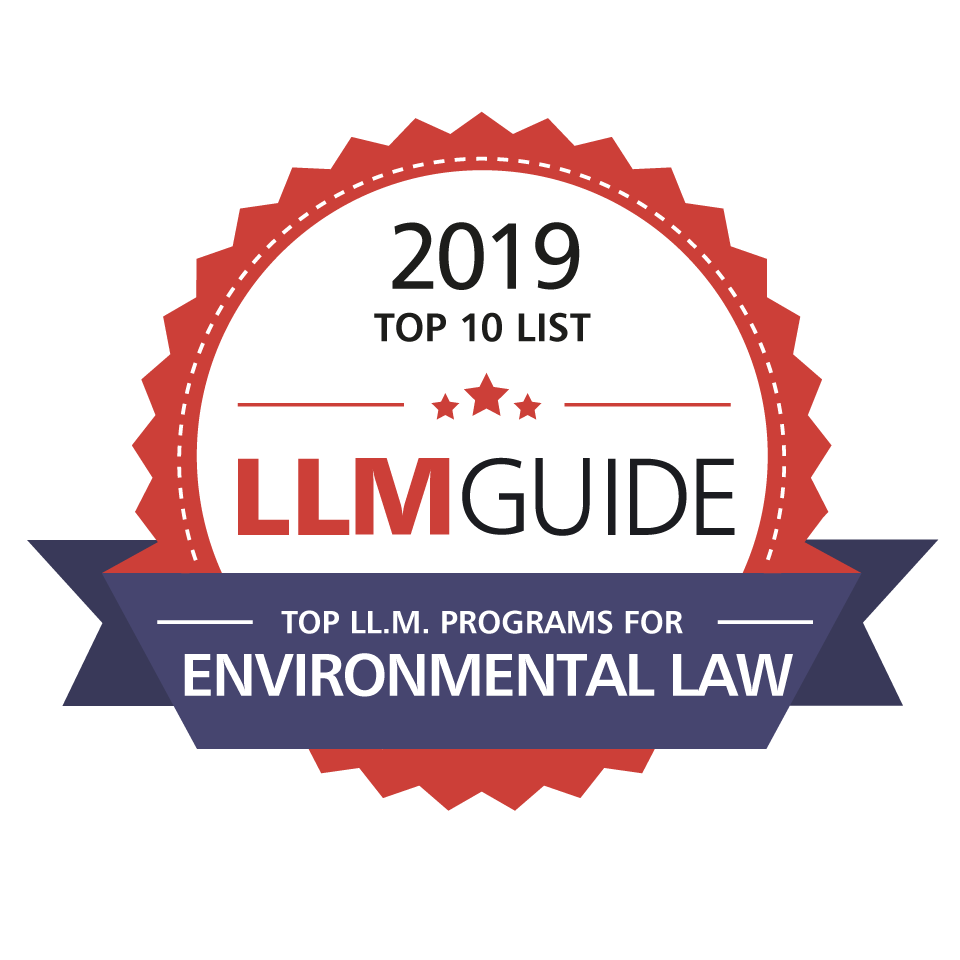 Top 10 LL.M.s for Environmental Law